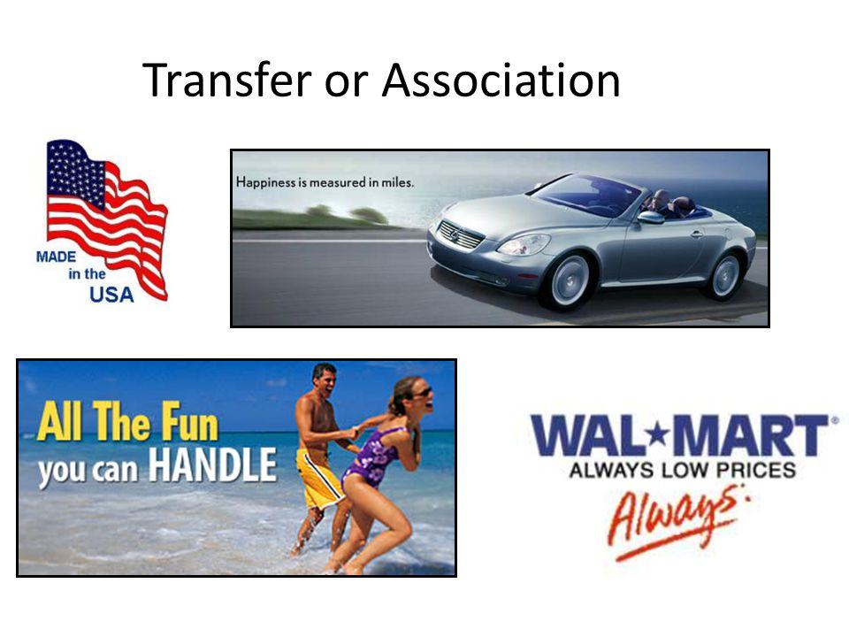 Transfer or Association