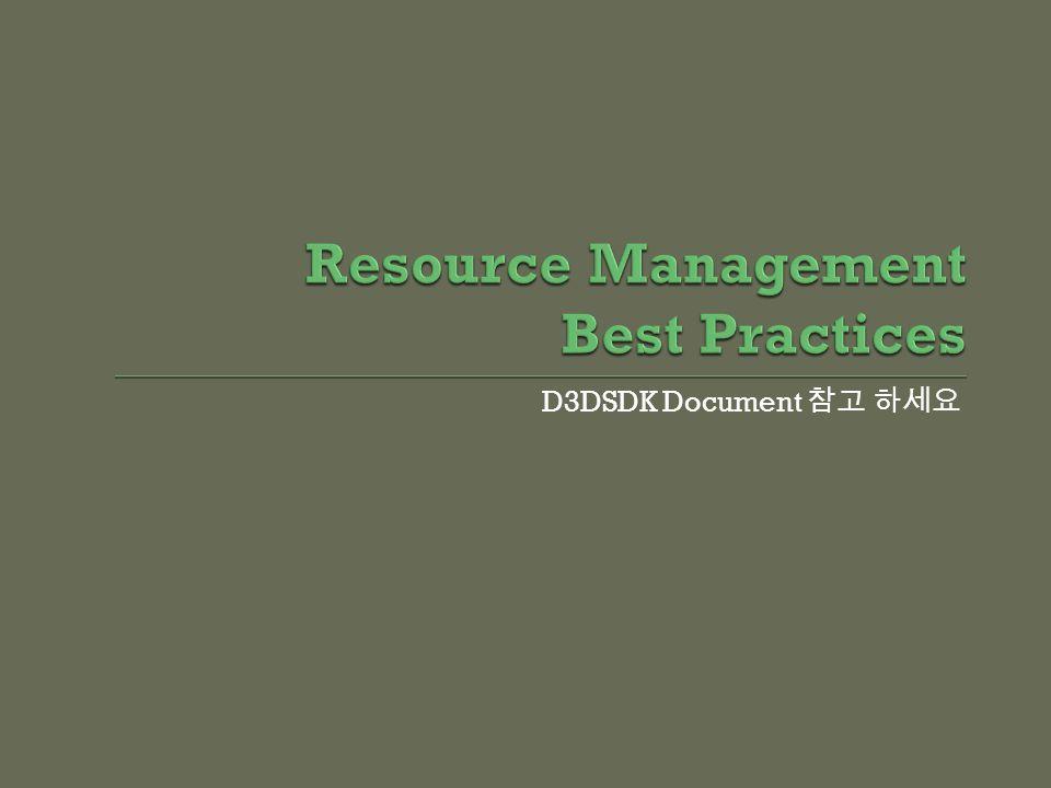 D3DSDK Document
