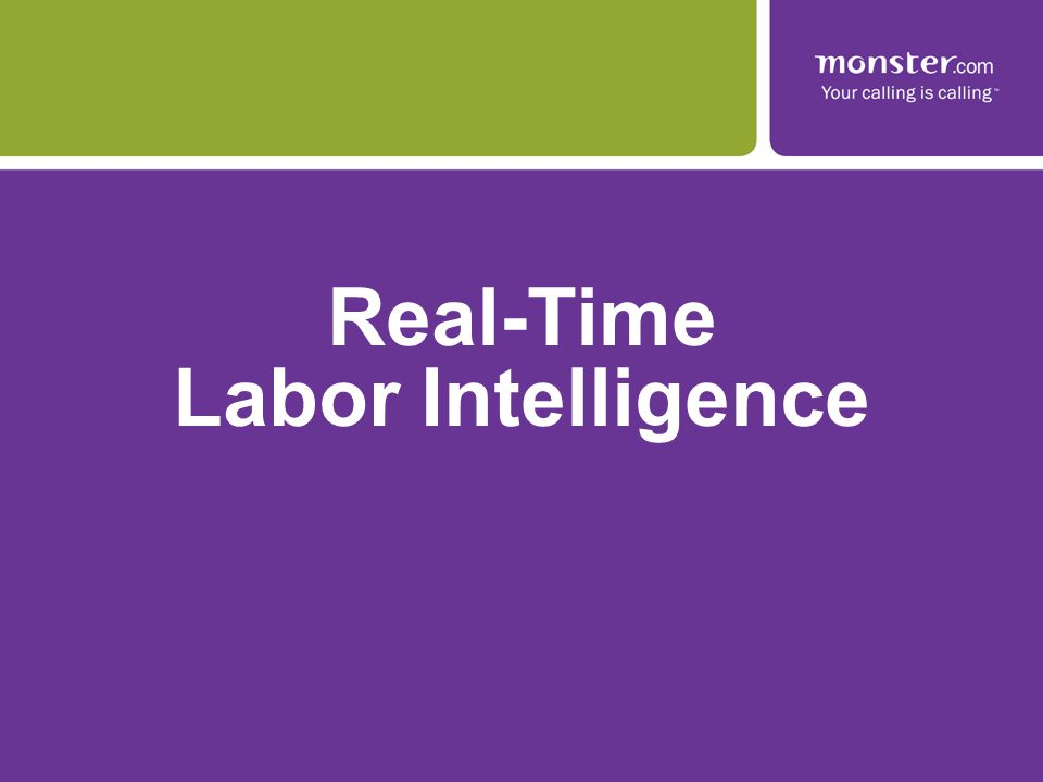 Real-Time Labor Intelligence