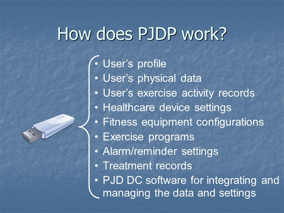 How does PJDP work.
