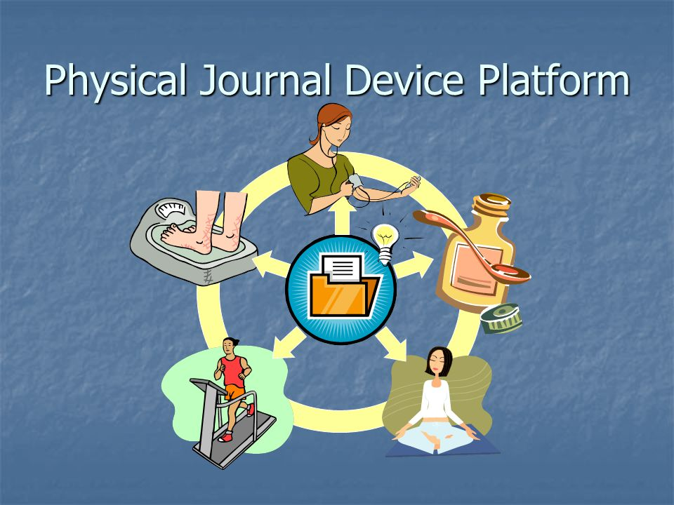Physical Journal Device Platform