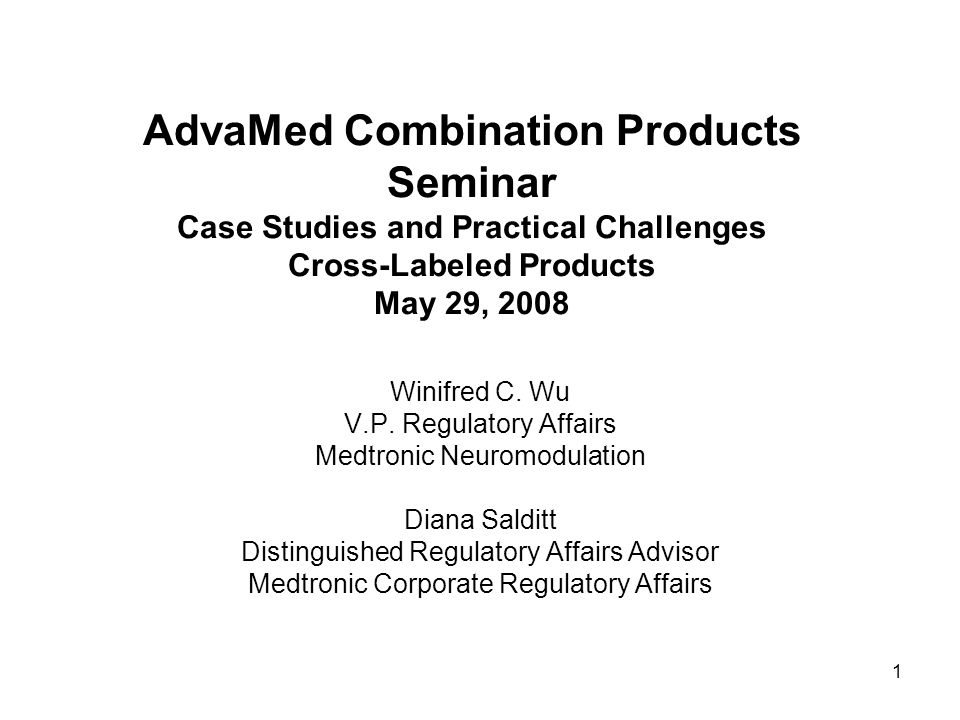 2 Outline Introduction – Definitions, General Challenges and Considerations Development Arrangements for Cross-Labeled Products - Different Case Scenarios Collaboration Between Device and Drug Companies – Examples: 1.Joint Venture 2.Joint Development 3.General Agreement Going it Alone - Single device company 1.No Collaboration (One Company Developing Both Products) 2.No Collaboration using commercially available drug/biologics