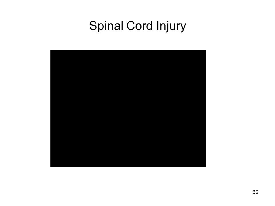 32 Spinal Cord Injury