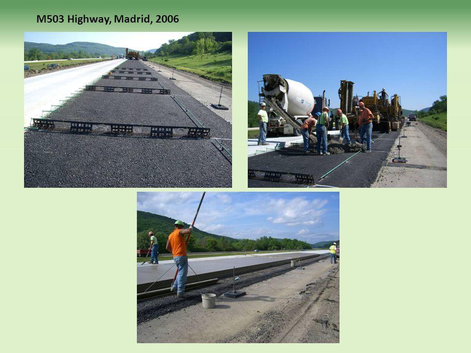 M503 Highway, Madrid, 2006