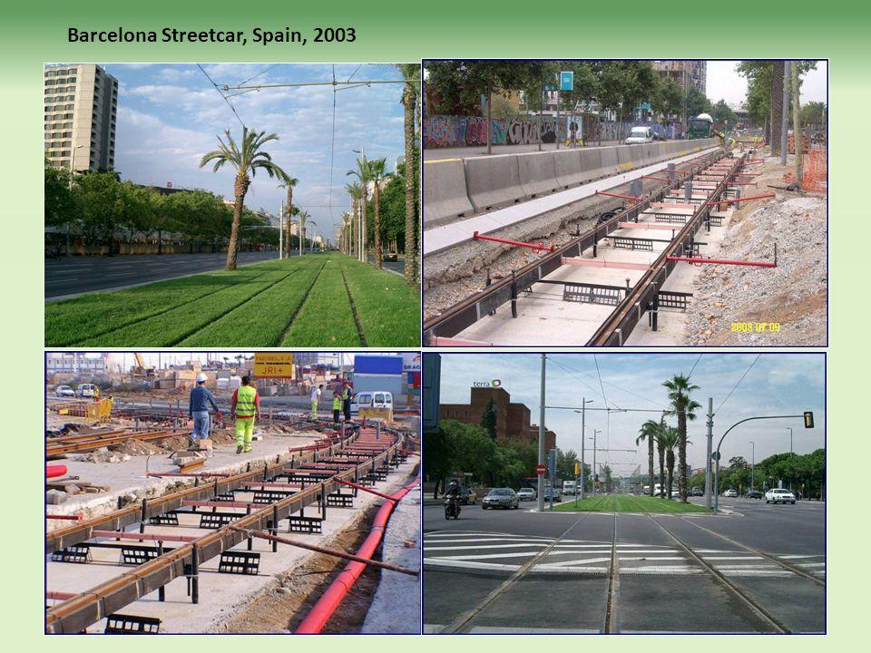 Barcelona Streetcar, Spain, 2003