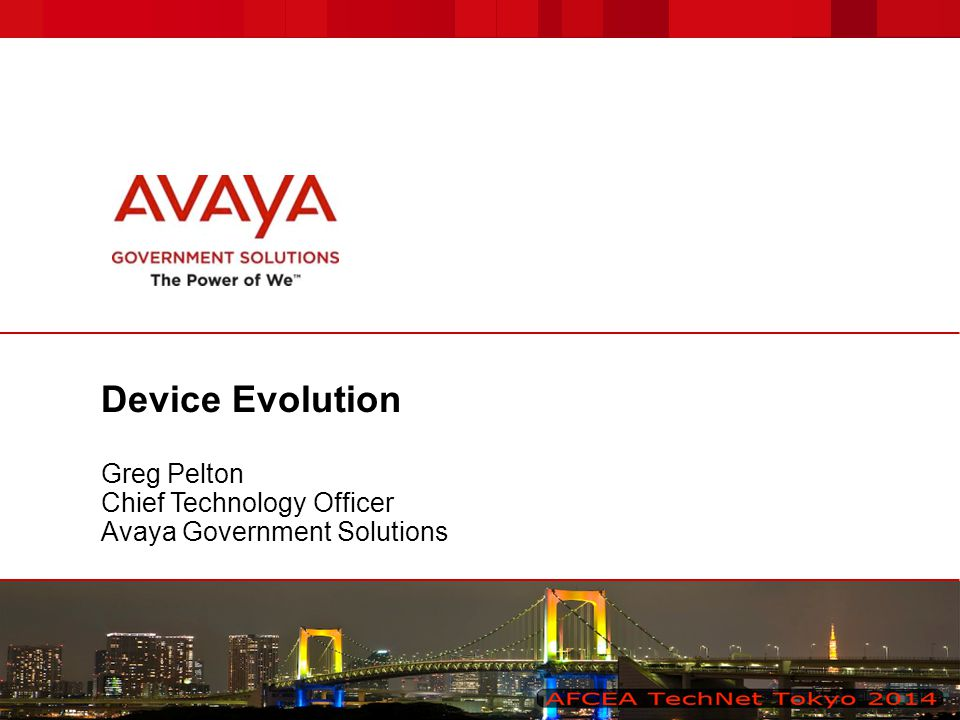 © 2014 Avaya Inc.All rights reserved. 2 Avaya – Confidential & Proprietary.