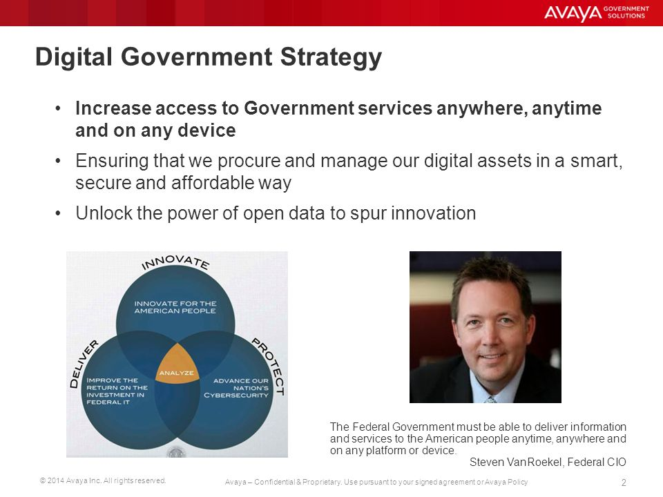 © 2014 Avaya Inc.All rights reserved. 13 Avaya – Confidential & Proprietary.