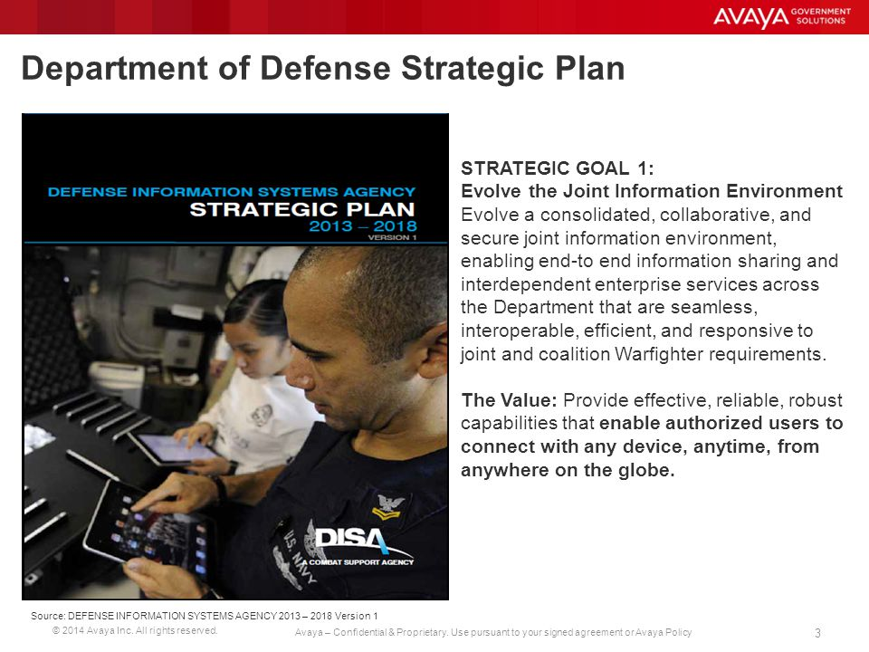 © 2014 Avaya Inc.All rights reserved. 4 Avaya – Confidential & Proprietary.