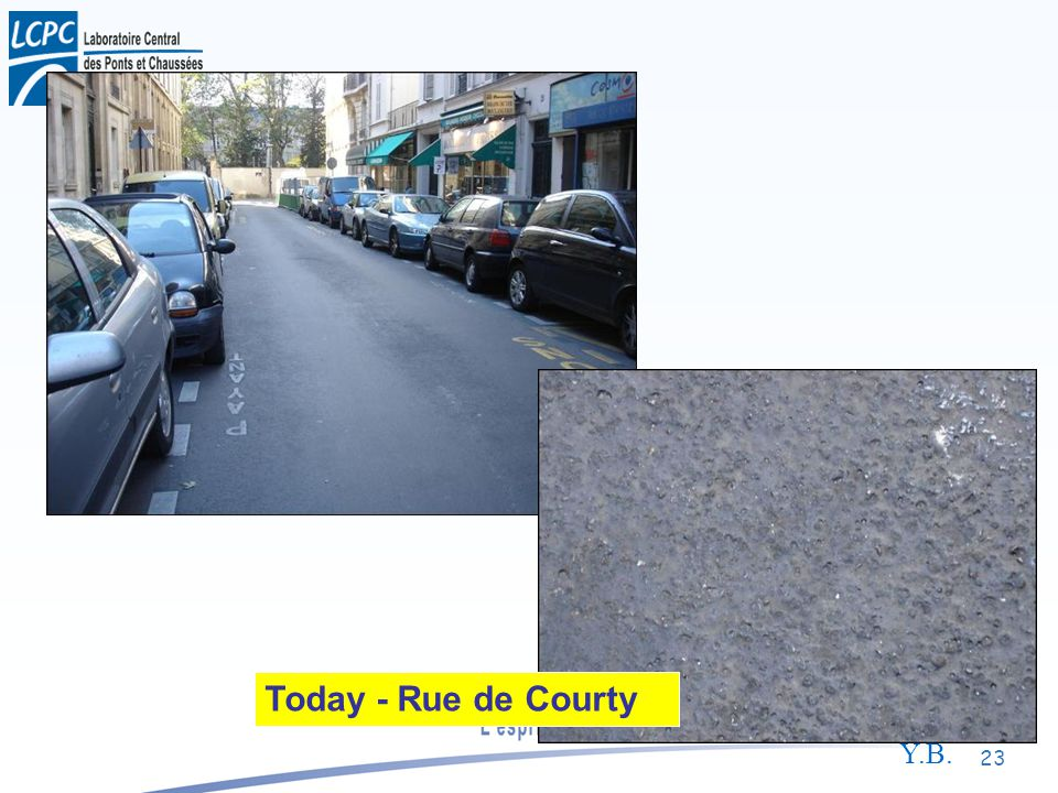 Y.B. 23 Today - Rue de Courty
