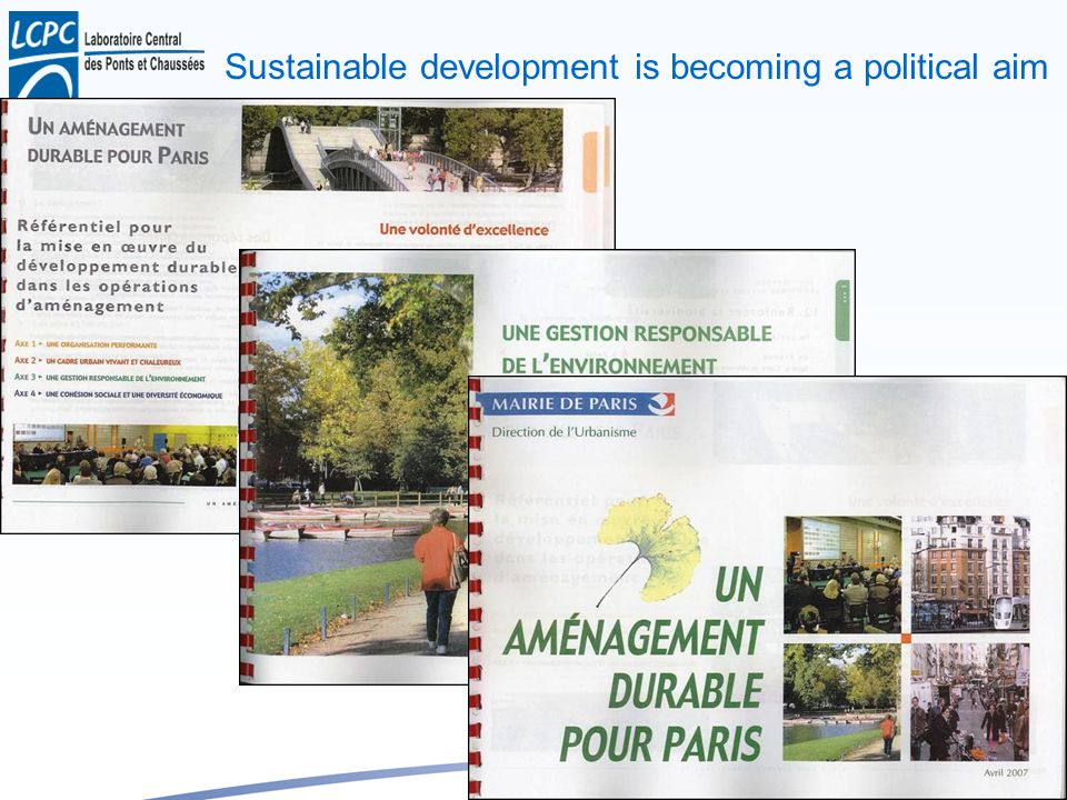 Y.B. 35 Sustainable development is becoming a political aim