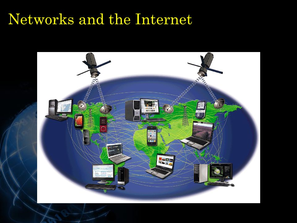 Networks and the Internet 12