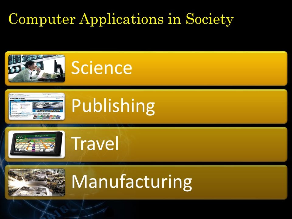 Computer Applications in Society Science Publishing Travel Manufacturing 32