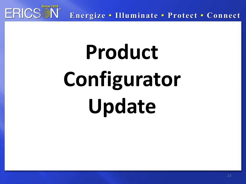 23 Product Configurator Update