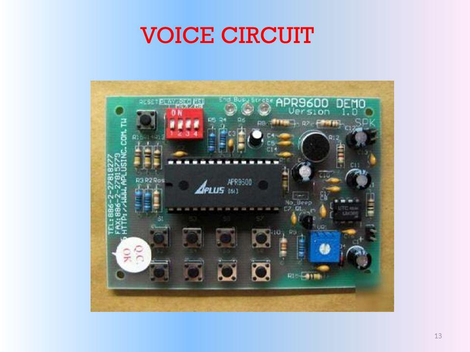 VOICE CIRCUIT 13