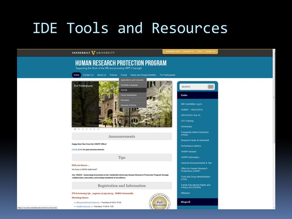 IDE Tools and Resources
