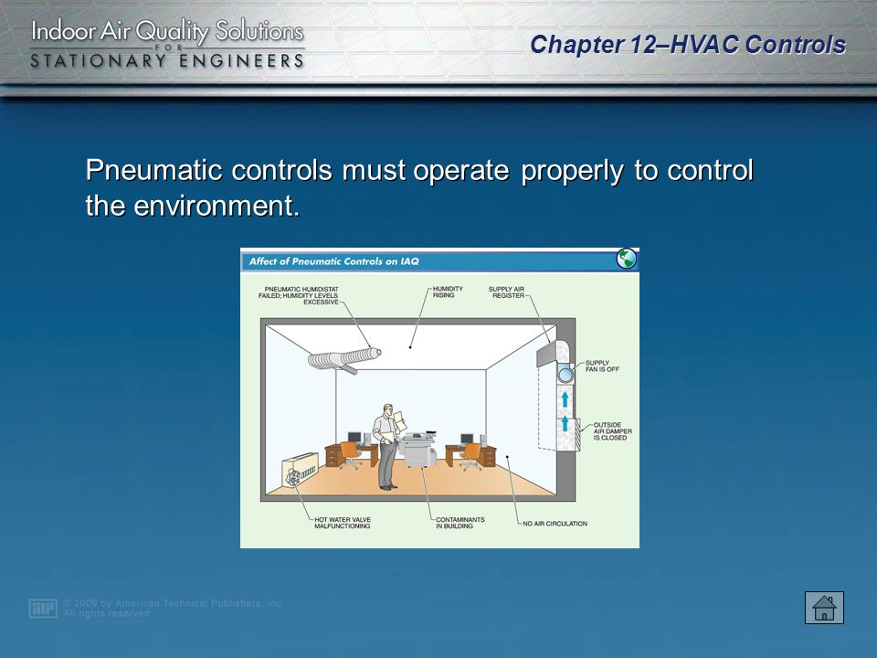 Chapter 12–HVAC Controls Two-way valves have one inlet and one outlet.
