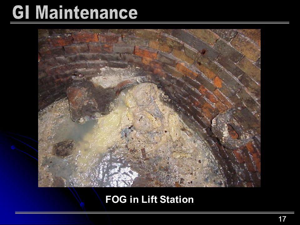 17 FOG in Lift Station
