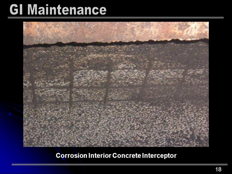 18 Corrosion Interior Concrete Interceptor