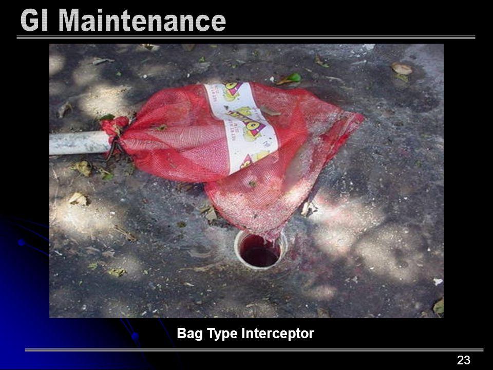 23 Bag Type Interceptor