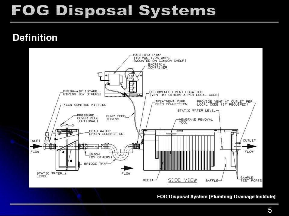 Definition Gravity Interceptor [Plumbing Drainage Institute] 6