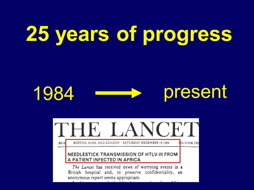 25 years of progress 1984 present