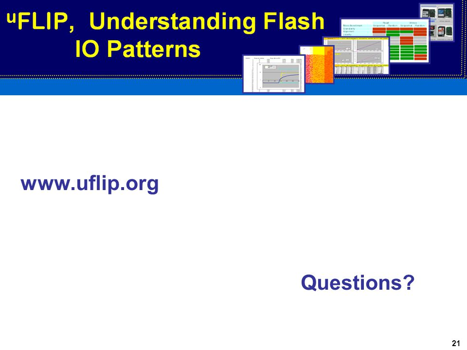 21 www.uflip.org Questions?