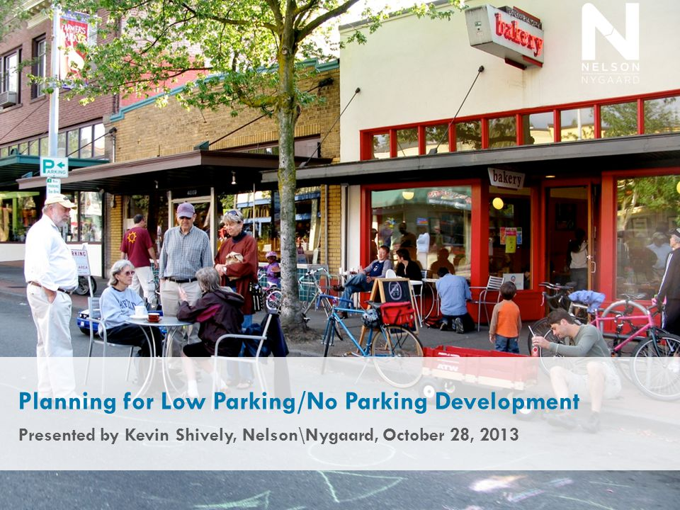 Parking Analysis: Travel Surveys of Comparable Local Sites 22 Mode of current trip Vehicle availability