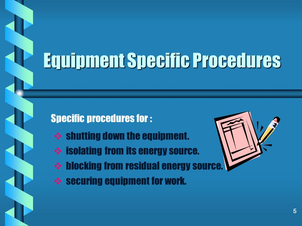 15 Authorized Employee Authorized Employee-an individual who uses the lockout/tagout /verify procedure on a machine or piece of equipment that is to be serviced or maintained.