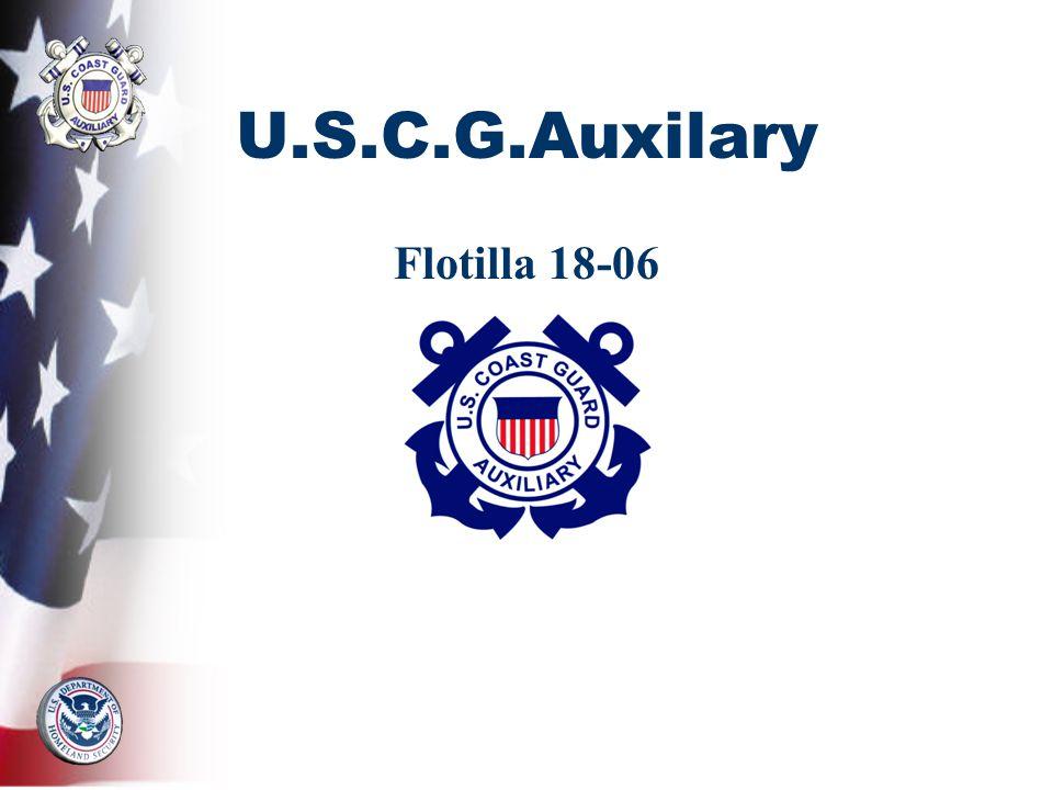 U.S.C.G.Auxilary Flotilla 18-06