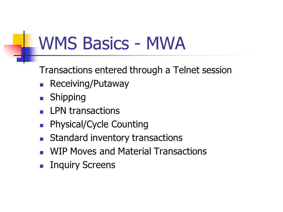 WMS Basics - MWA Subinventory Transfer Data can be entered, scanned or selected.
