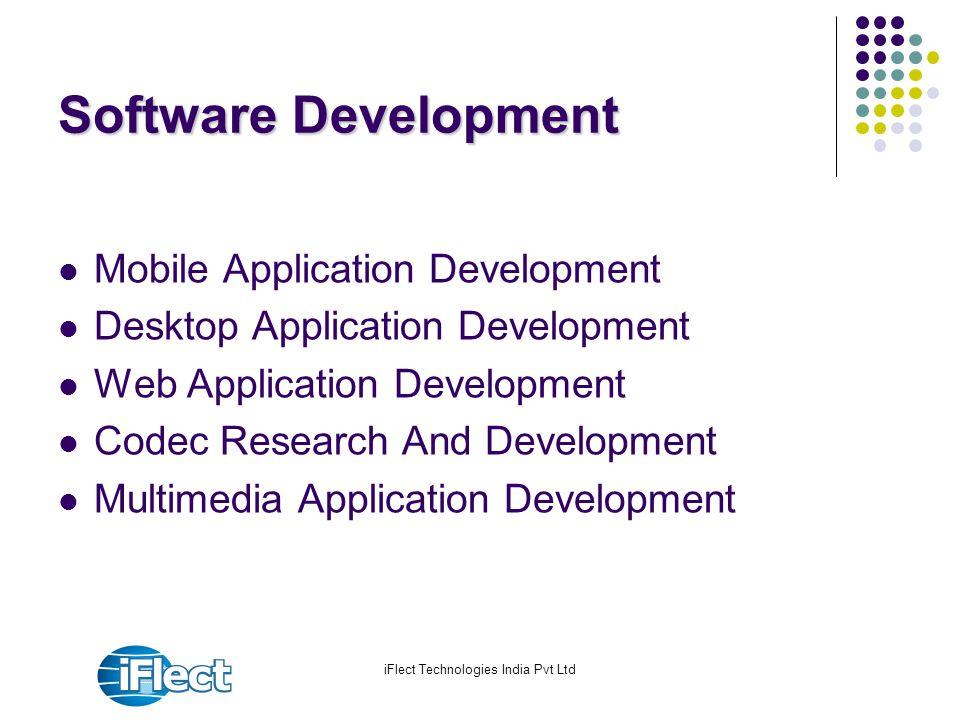 iFlect Technologies India Pvt Ltd Software Development Mobile Application Development Desktop Application Development Web Application Development Code