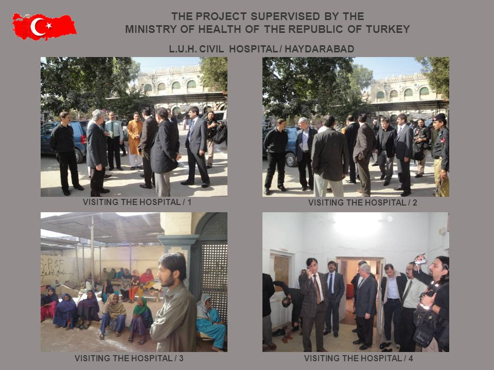 VISITING THE HOSPITAL / 1 VISITING THE HOSPITAL / 4VISITING THE HOSPITAL / 3 VISITING THE HOSPITAL / 2 L.U.H. CIVIL HOSPITAL / HAYDARABAD THE PROJECT