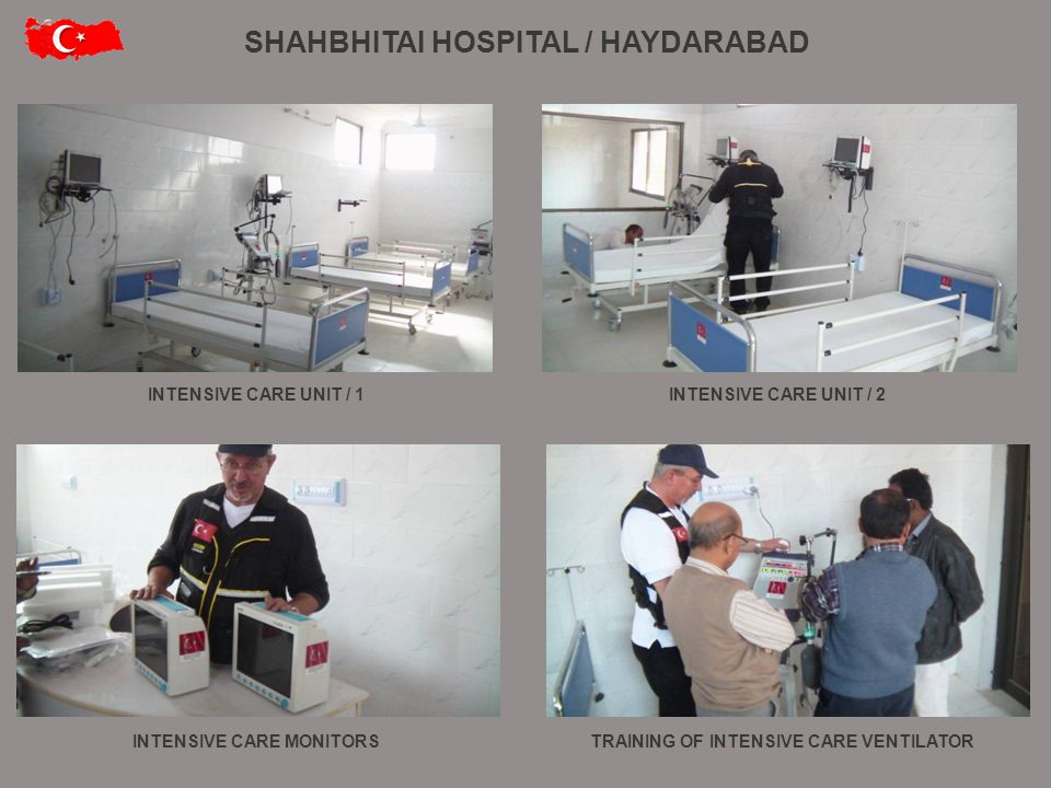 OPERATION ROOM / 1OPERATION ROOM / 2 OPERATION ROOM / 4 OPERATION ROOM / 3 THE PROJECT SUPERVISED BY THE MINISTRY OF HEALTH OF THE REPUBLIC OF TURKEY SHAHBHITAI HOSPITAL / HAYDARABAD