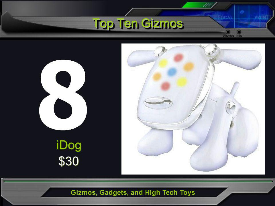 Gizmos, Gadgets, and High Tech Toys iDog $30 iDog $30 Top Ten Gizmos