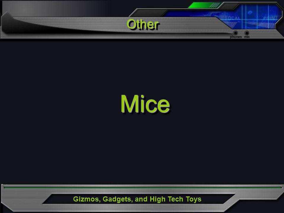 Gizmos, Gadgets, and High Tech Toys OtherOther MiceMice