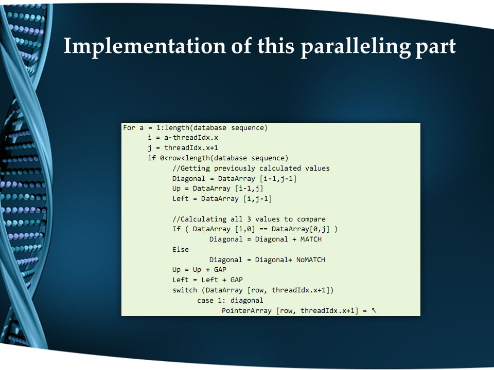 Implementation of this paralleling part