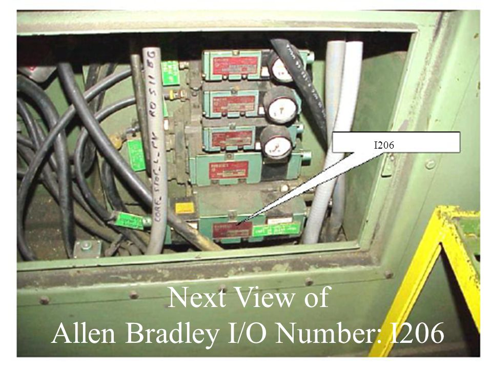 Next View of Allen Bradley I/O Number: I206 I206