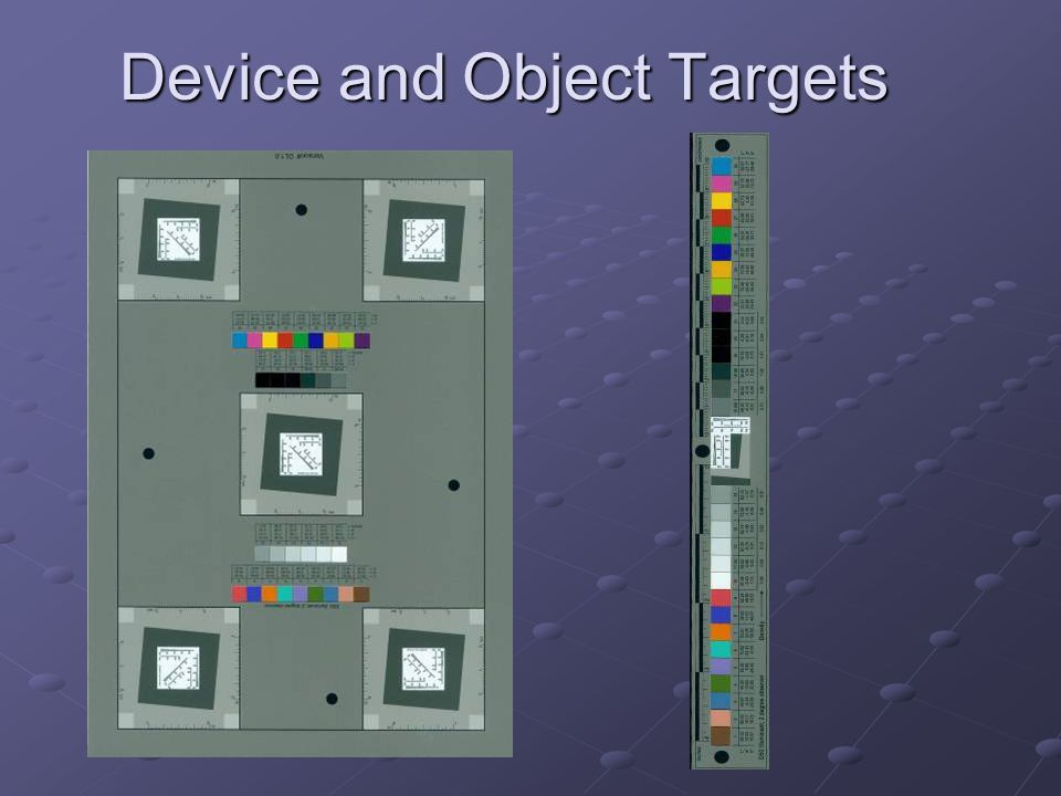Object Target in Use