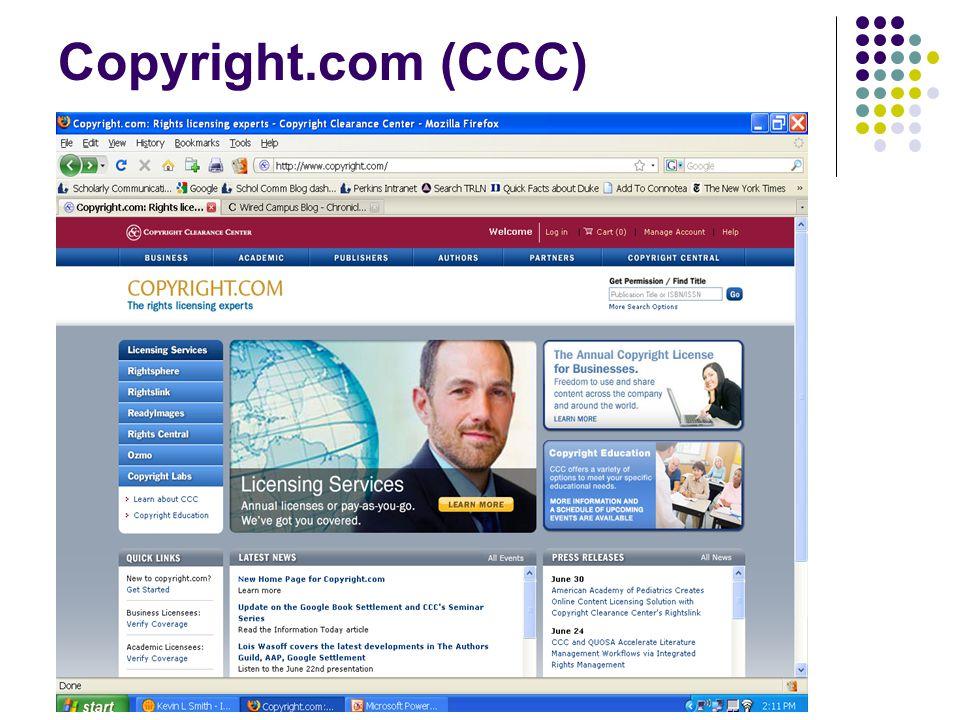 Copyright.com (CCC)