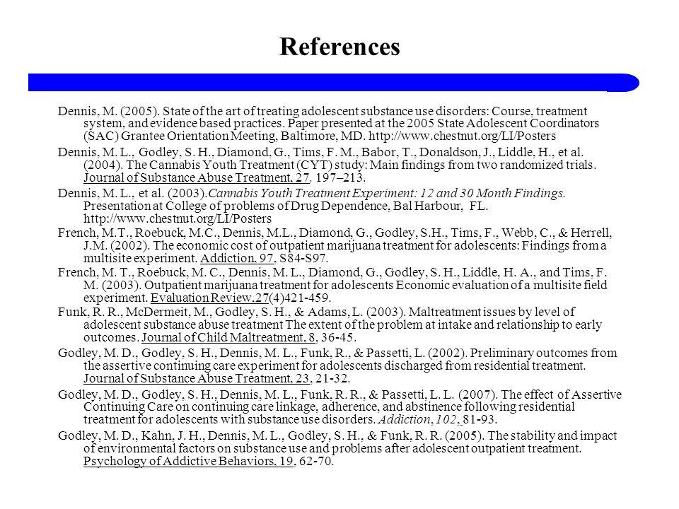 References Dennis, M.(2005).