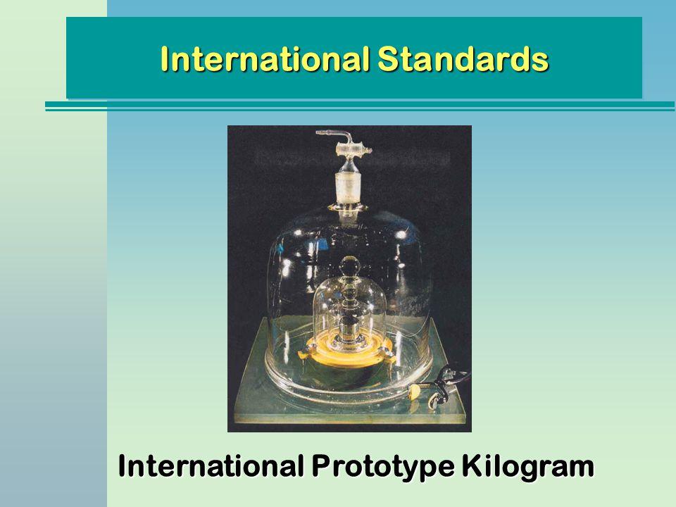 International Prototype Kilogram International Standards