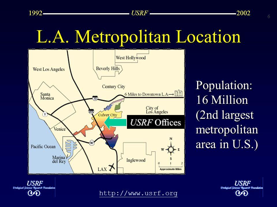 7 http://www.usrf.org USRF20021992 USRF Offices USRF Saw Palmetto Study: Lead Story in Urology Times
