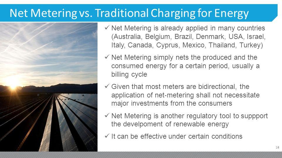 16 Net Metering vs.