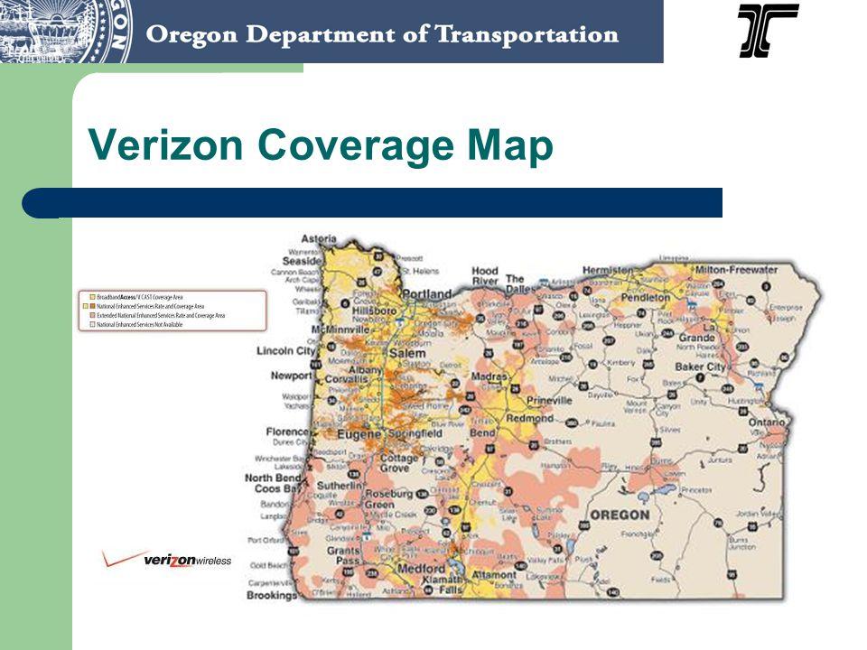 Verizon Coverage Map