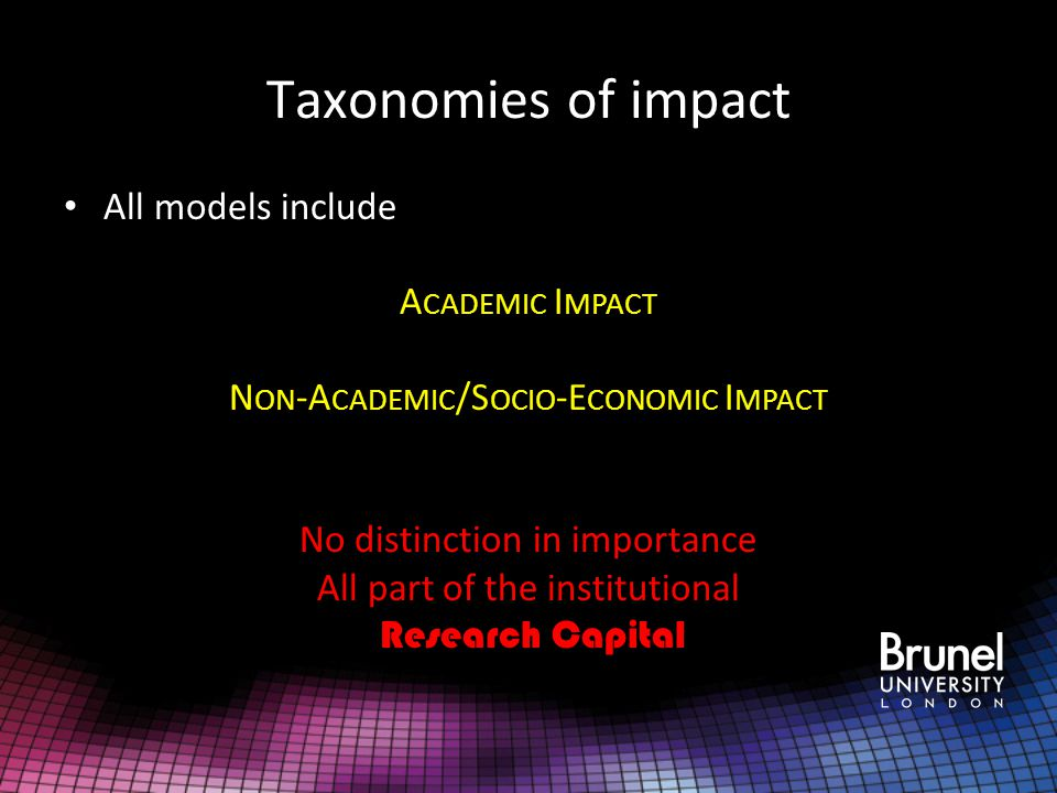 12 FUNDED PROJECTS PHD STUDENTS RESEARCH OUTPUTS ACADEMIC IMPACT NON-ACADEMIC IMPACT NON-ACADEMIC IMPACT Research Capital