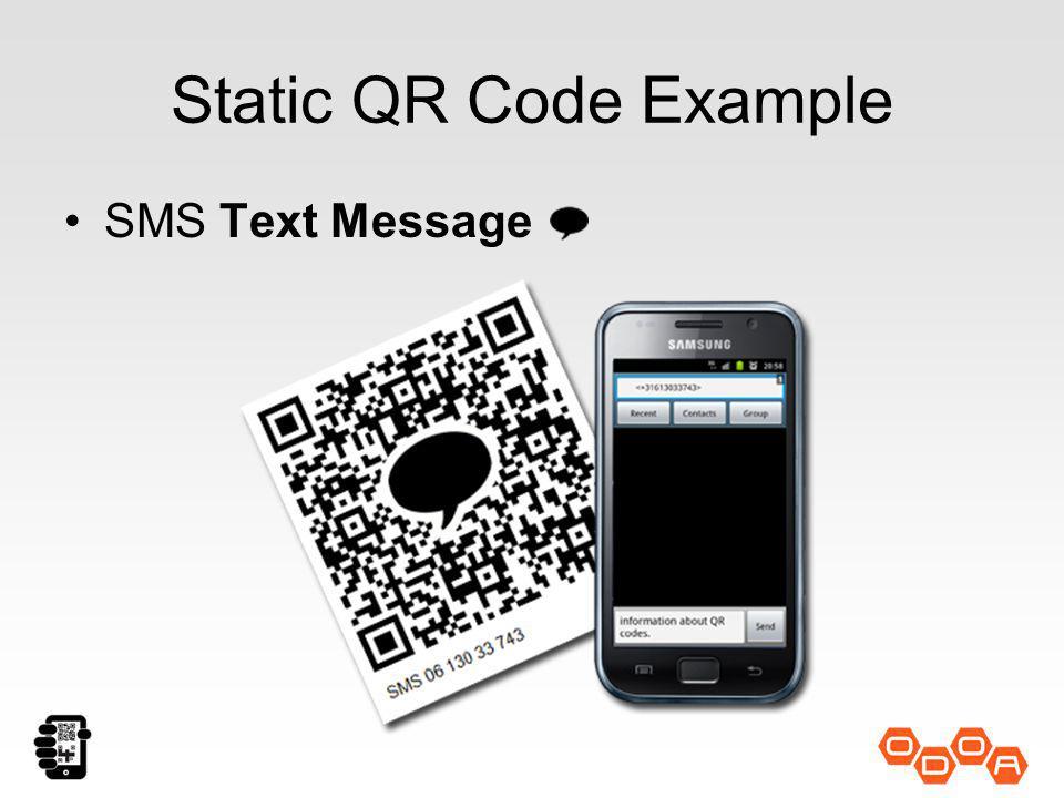 Static QR Code (Mobile Friendly) Websites