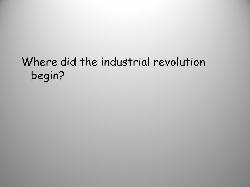 steam engine - James Watt cotton gin - Eli Whitney Bessemer Process (new process for making steel) -Henry Bessemer