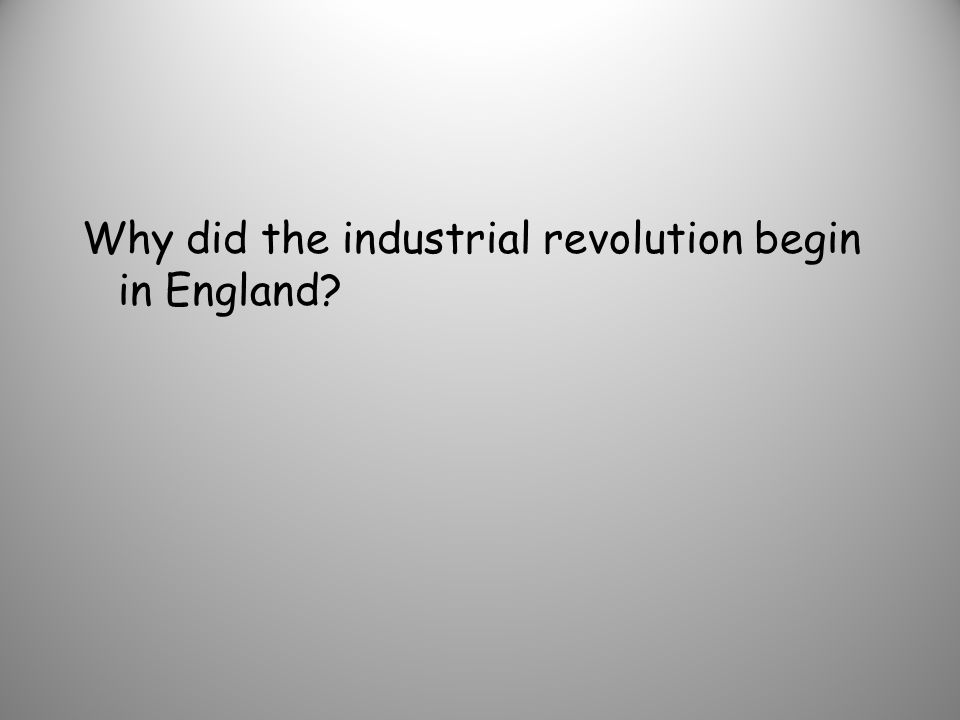 How did the industrial revolution affect slavery?