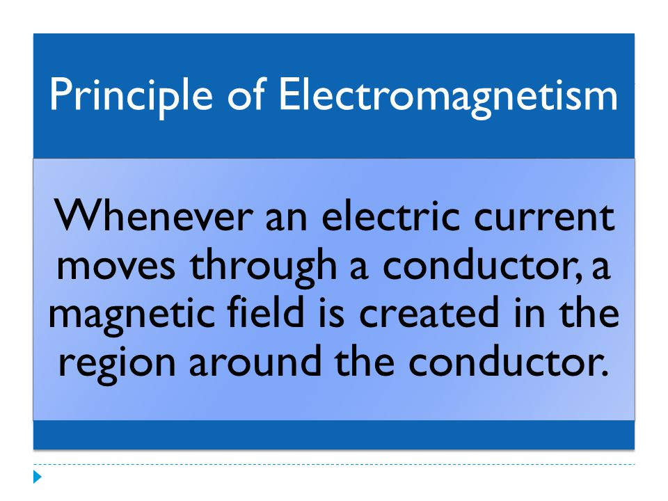 Magnetic Field of a Straight Conductor The magnetic field lines for a straight conductor are concentric circles around the conductor.