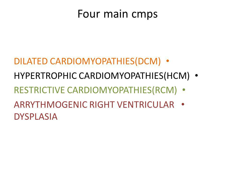 Familial (genetic )and non familial (acquired)form of the diseases have been describe